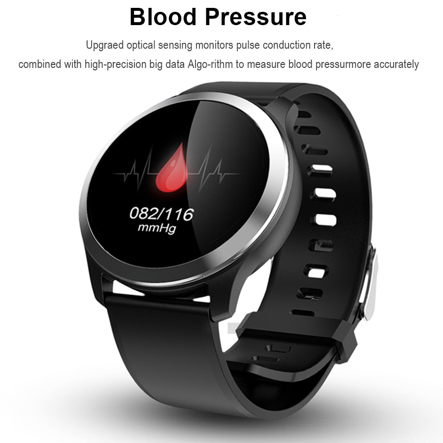 N59 Smart Watch ECG+PPG Heart Rate Blood Pressure Fitness Tracker Watch  IP68 Waterproof Smartwatch for Android IOS
