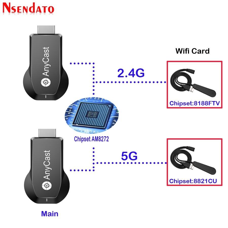 universal wireless wifi display dongle receiver 1080p hd tv