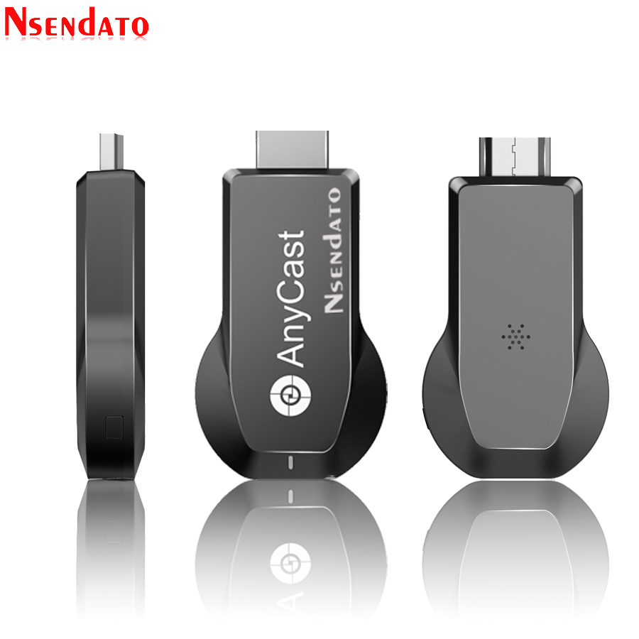 Anycast M100 2 4G/5G 4K Miracast Any Cast Wireless DLNA AirPlay HDMI TV  Stick Wifi Display Dongle Receiver for IOS Android PC